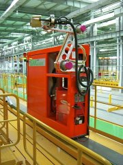 Automatic welding unit